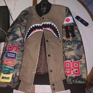 Hudson NY Sharkmouth Varsity Jacket